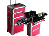 大型专业化妆箱 多层高化妆箱 室外拉杆理发箱 专业理发箱