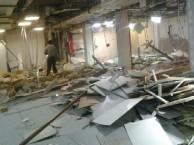 武汉米兰映象家装工程装修拆除多少钱门店厂房商场拆除清运开荒