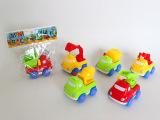 爆款儿童卡通惯性工程车 挖土机 挖掘机 惯性玩具 儿童节礼物