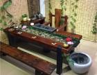 老船木茶桌椅组合实木茶桌茶台家具中式功夫茶几阳台简约小茶艺桌