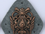 新款服装纺织辅料配饰 优质耐用服装皮标 个性金属服装皮标饰品