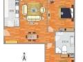 北关 副中心附近 南北双通透两居室闭门出售 看房随时