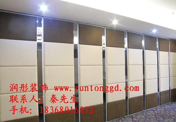 供应绍兴多功能厅移动隔断 会议室活动隔断 酒店餐厅移动折叠门