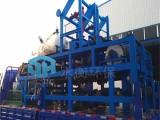 广州发电厂脱硫真空皮带脱水机 橡胶带式真空过滤机价格