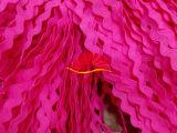 粉色花边带子 涤纶花边带子 大量现货批发