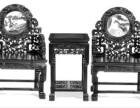 四川省专业回收二手红木家具 绵阳大红酸枝沙发老红木高价求购