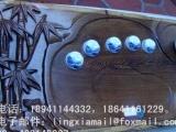 仙水 红木茶盘 手工雕刻
