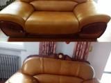 石家庄专业沙发翻新维修 更换高密度海绵 皮沙发整体局部换皮