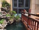 过滤净化锦鲤鱼池保洁与系统维护