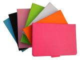 苹果ipadmini平板电脑彩色 插卡支架 十字纹保护壳皮套