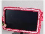 全棉布艺电脑圈|液晶显示器套|糖果吊坠电脑罩防尘罩