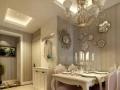 南阳装修案例优雅,收于形而溢于意98㎡简欧风格