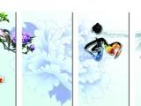 福州厂家批发光纤薄型电热器最薄的电热画