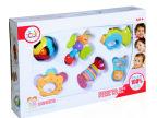 汇乐939A宝宝摇铃6只装 婴幼儿牙胶摇铃 宝宝新生儿玩具