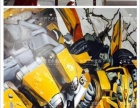 墙绘壁画3D画/大匠艺术壁画