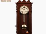 德国原装进口赫姆勒高档实木 整点报时 复古石英挂钟 正品包邮