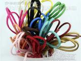 批发 韩国绒编织皮绳 皮条绳带 仿皮绳 仿牛皮绳 挂绳