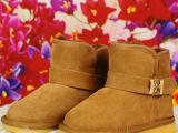 2015 款冬季新款亮膜花纹 豹纹 女冬靴 皮毛一体雪地靴  一