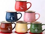 厂家直销可爱动物牛奶杯 韩式zakka杯子 创意 陶瓷  陶瓷杯