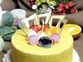 网上订购蛋糕,微信关注 味美滋cake 同城配送