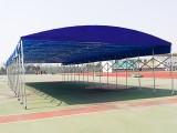 騰達定制防雨伸縮棚倉庫棚移動棚大型推拉篷