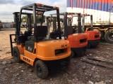 转让二手杭州3吨叉车标准门架叉车 全国包送