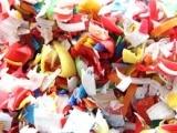低价大量提供 物美价优废塑料PET瓶片 PET瓶片粉碎废塑料