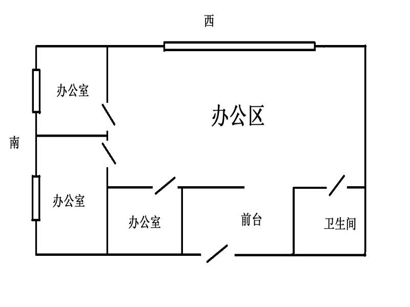 珠江名府 4室 1厅 220平米 整租