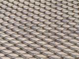 上海金属装饰网厂家 金属隔断网帘 勾花螺旋垂帘网