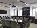 中庭国际南汇达大厦200平带家具 大气玻璃门