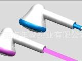 长期供应自主研发高品质塑胶耳机耳壳266