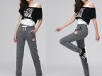 2014春夏裤女裤子卫裤长裤显瘦中腰休闲小脚裤韩版运动裤