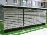合肥普耐德不锈钢小区信报箱室外雨棚信报箱别墅信箱奶箱定制