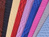 思林 新款亮色蛇纹皮革 大量现货 当天发货 色彩亮丽 热销产品