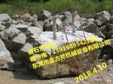 矿山开采专用盘古斧岩石开采液压分裂机设备