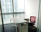 万达中心 256平精装三个办公室带家具清爽格局有钥