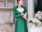 2014秋季新款风衣韩版女装修身时尚翻领中长款女式双排扣风衣外套