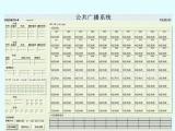 功率分区矩阵系统控制软件
