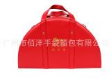 工厂生产订做中高等手袋箱包/红色手提旅行箱