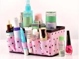 厂家直销居家家纳精品化妆盒桌面杂物化妆品折叠收纳盒 X0003批