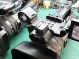 索尼198P摄像机提C3260重新连接电源维修
