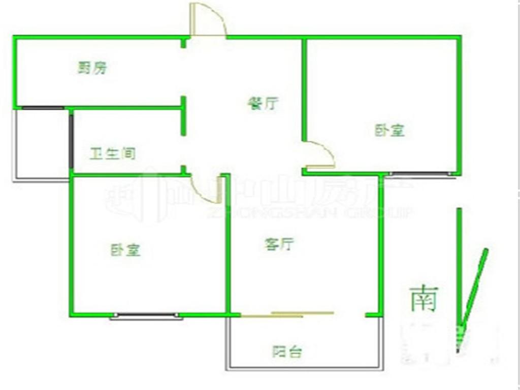豪华装修两居室 租房必选 业主包物业费急租华夏泉绅
