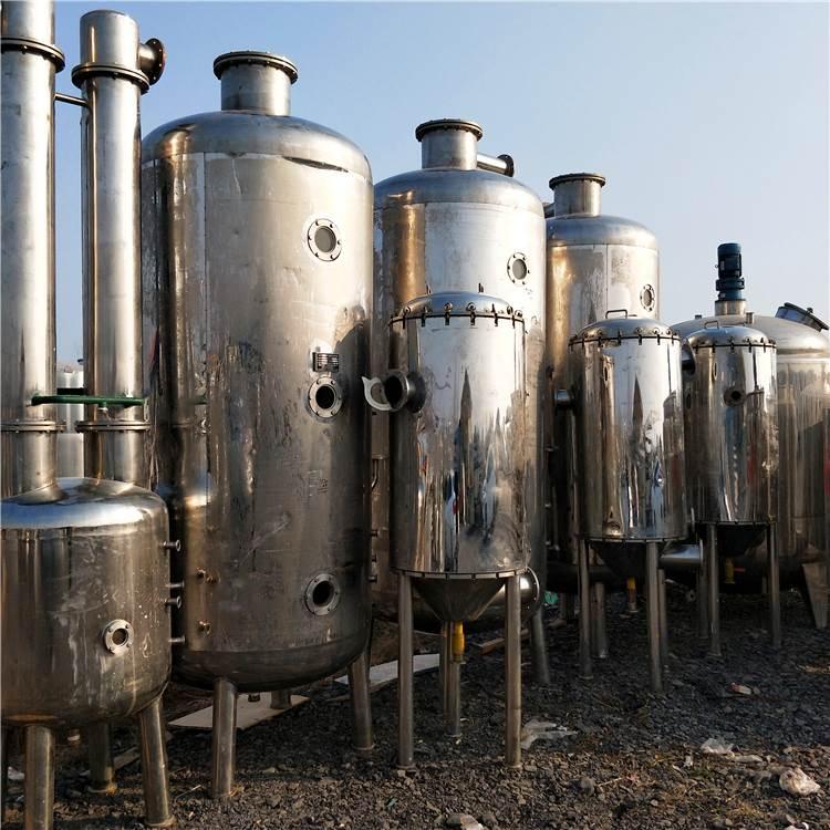 高价回收浓缩蒸发器 山东二手多效蒸发器供应
