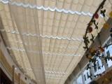 東四十條陽光房遮陽簾東城區商場酒店室內采光頂電動隔熱天棚簾