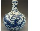 安徽天球瓶瓷器目前的市场行情怎样