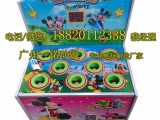 广州番禺新款小孩打老鼠游戏机价钱~叮当乐园打地鼠游戏机