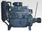 潍坊4105柴油机离合器固定座机皮带轮