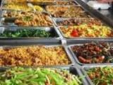 中式快餐定制团体餐定制自助餐保温台现场分餐