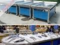 超市不锈钢冰台,海鲜冰台厂家直销