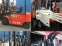 供应二手神钢SHINKO1.5吨 2吨前移式电动叉车